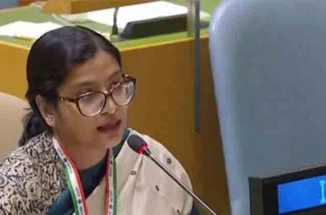 Pak PM's nuclear threat qualifies as brinksmanship not statesmanship: India at UNGA DKODING