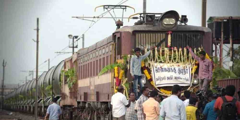 Parched-Chennai-Receives-Via-Water-Train-More-News-DKODING