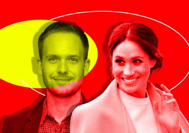 'Suits' former co-star Patrick J Adams fears calling Meghan Markle