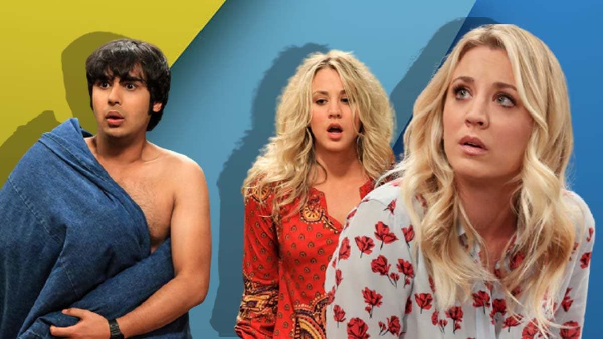 Are Penny and Raj friends or more?