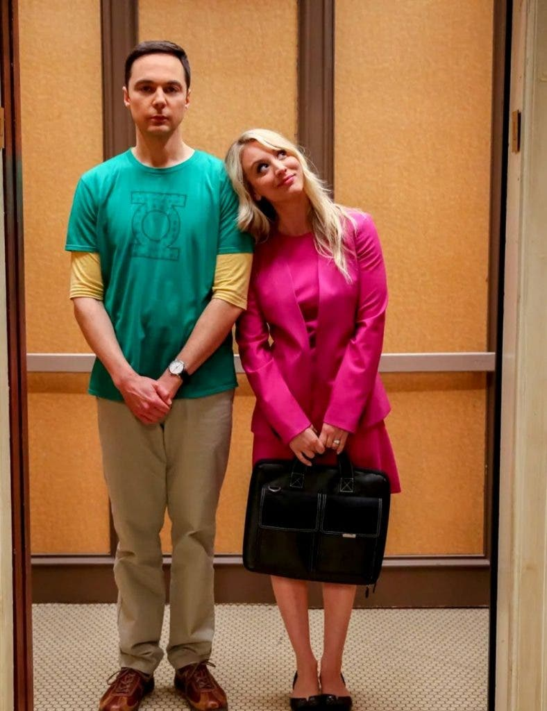Penny and Sheldon Face Off The Big Bang Theory