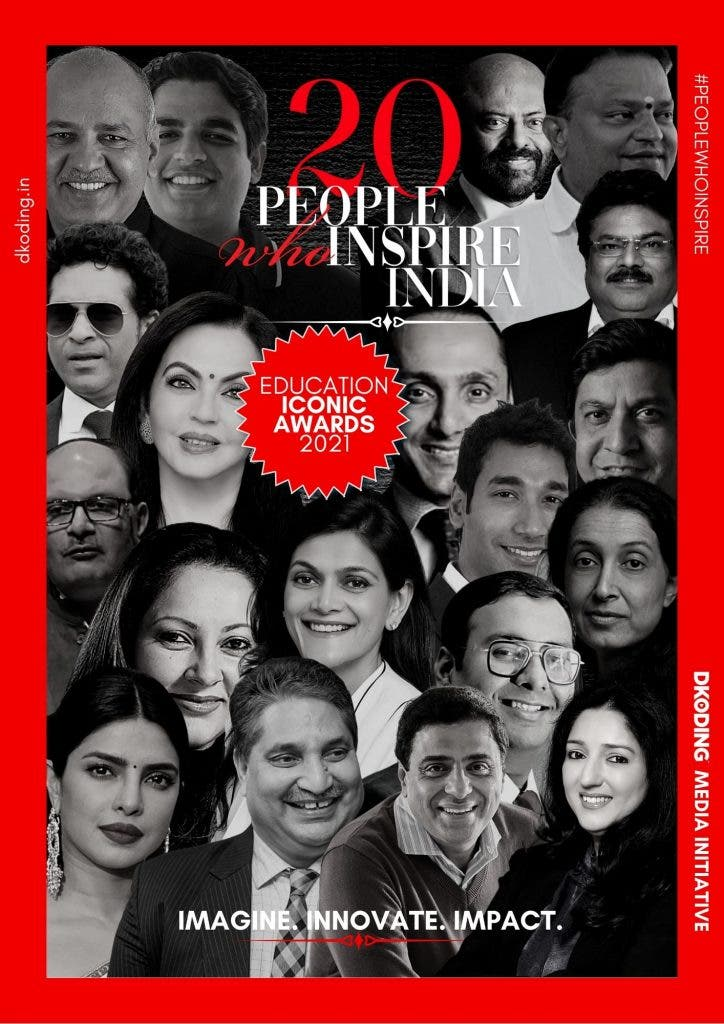 The Winners — People Who Inspire India Education Iconic Awards 2021