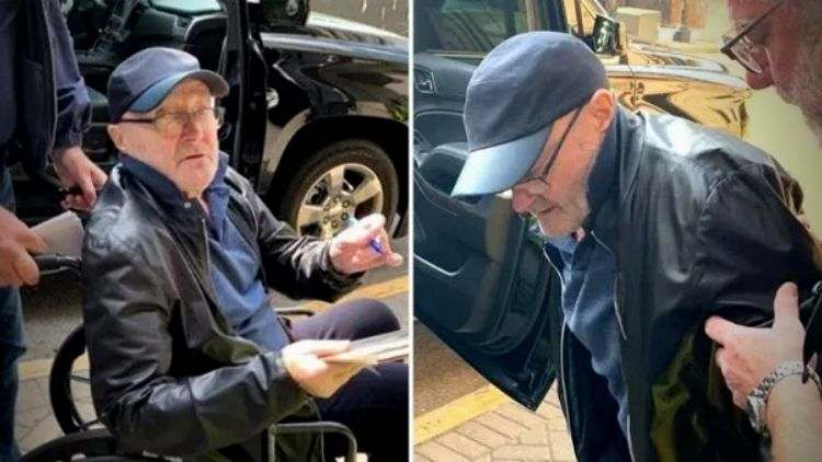 Phil Collins Health Wheelchair Trending Today DKODING