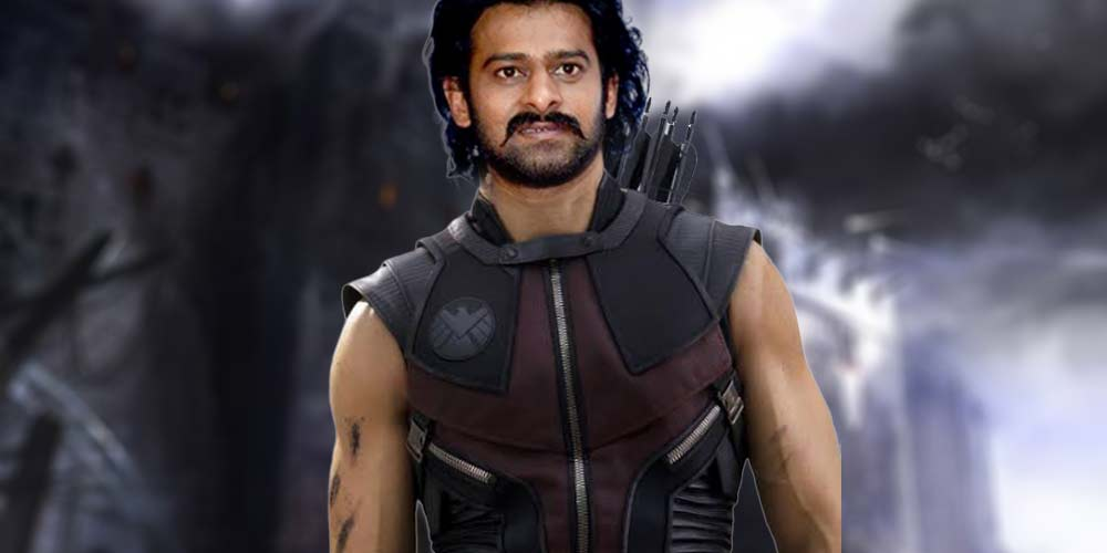 Prabhas as Hawkeye DKODING
