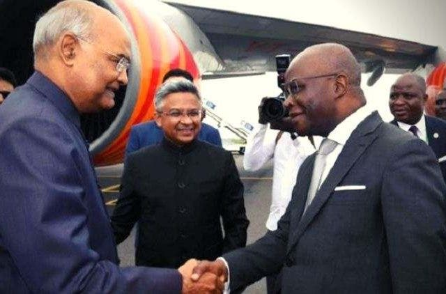 President-Kovind-Arrives-In-Benin-First-Visit-By-An-Indian-President-India-Politics-DKODING