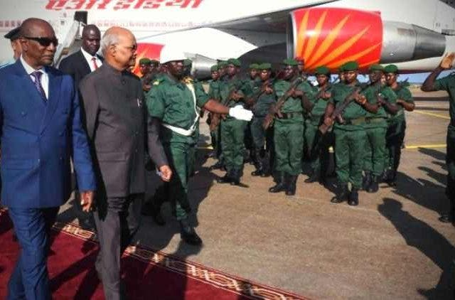 President-RPresident-Ram-Nath-Kovind-Arrives-In-Guinea-Global-Politics-DKODINGam-Nath-Kovind-Arrives-In-Guinea-Global-Politics-DKODING