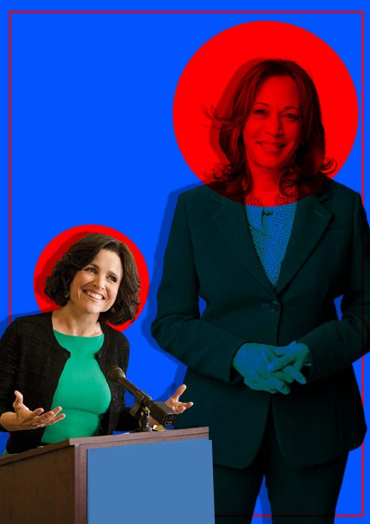 Do 'Veep's' fictional Madam Vice President Selina Meyers and Kamala Harris have anything in common?