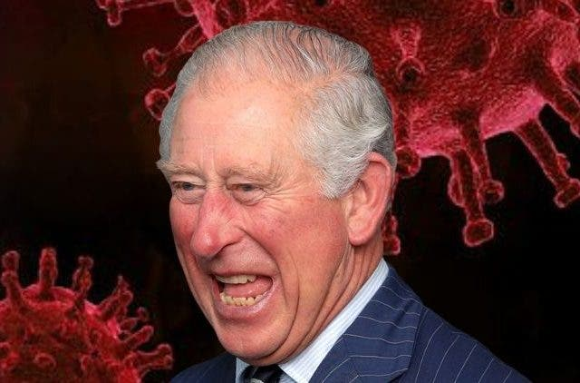 coronavirus infected prince charles