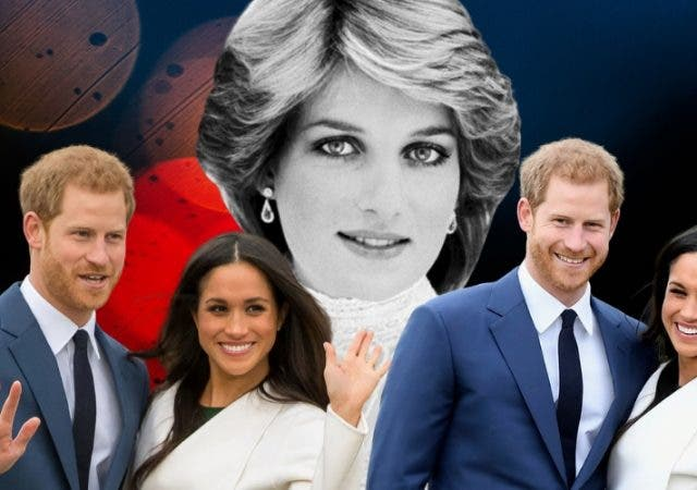 Prince Harry Meghan Morkle Princess Diana