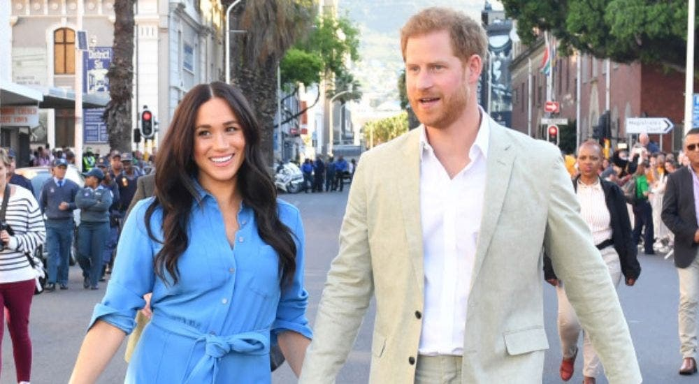 Prince Harry and Meghan Markle LA tour