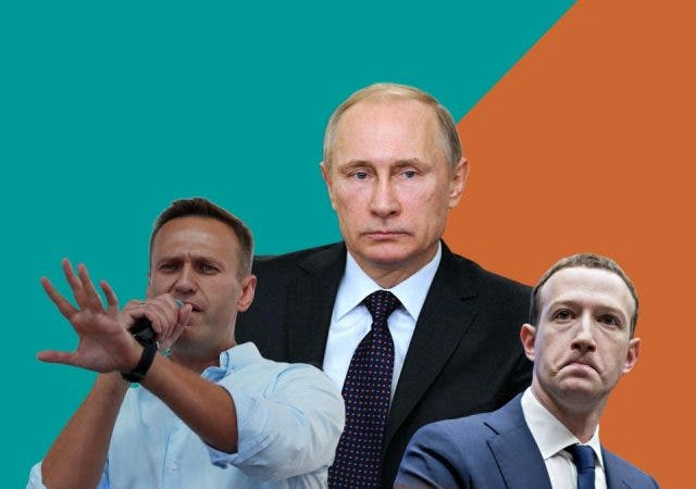 Amid Global Outrage Over Navalny Arrest, Putin Targets US Social Media Giants As Diversion