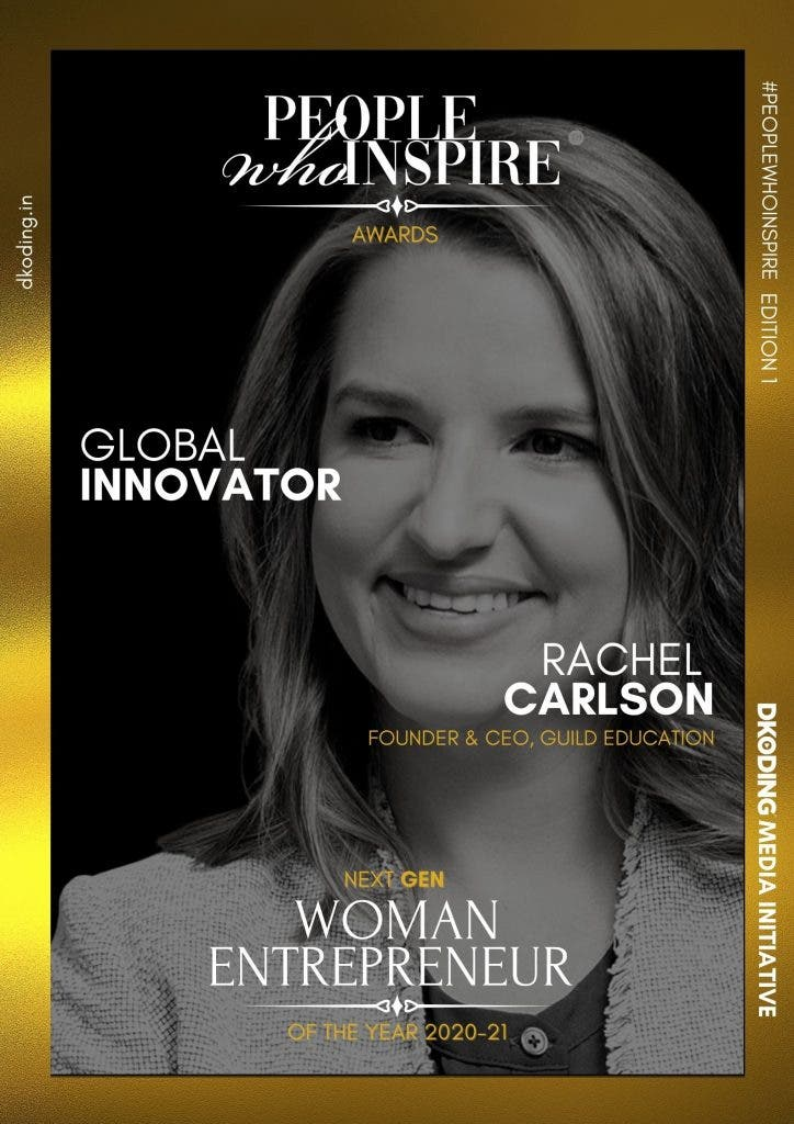 Rachel Carlson People Who Inspire PWI Woman Entrepreneur of the Year Award 2020-21