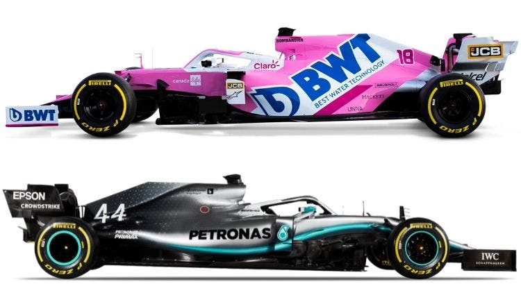 Racing Point RP20 Mercedes W10
