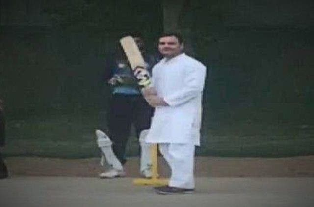 Rahul Gandhi Play Cricket More News DKODING
