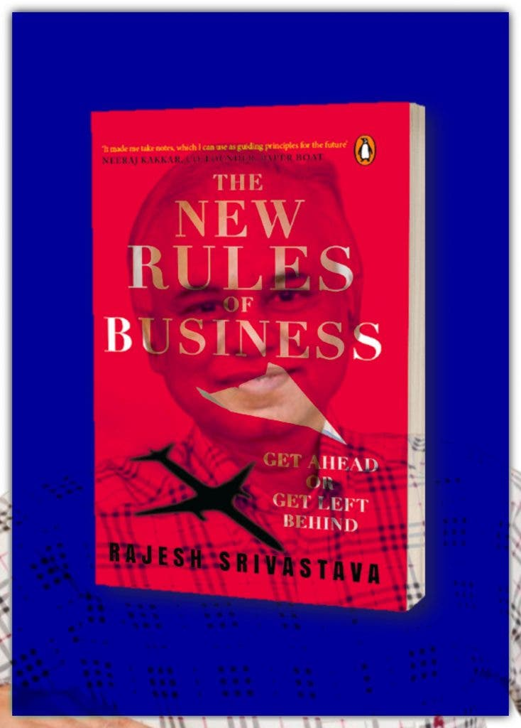Author Rajesh Srivastava- The New Rule Of Business