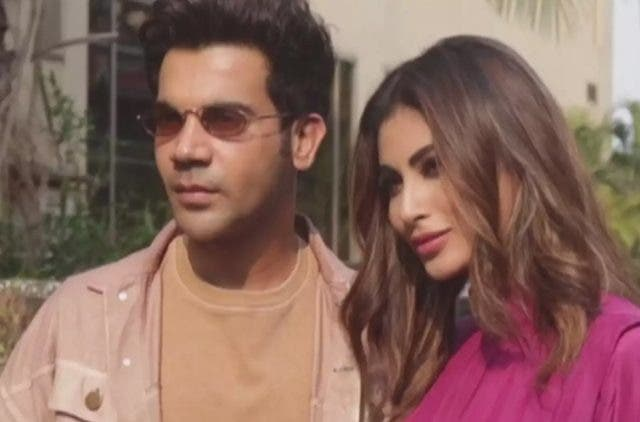 Rajkummar Rao, Mouni Roy on Made In China promotional spree