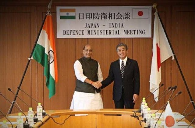 Rajnath-Singh-India-Japan-Defence-Meeting-Global-Politics-DKODING