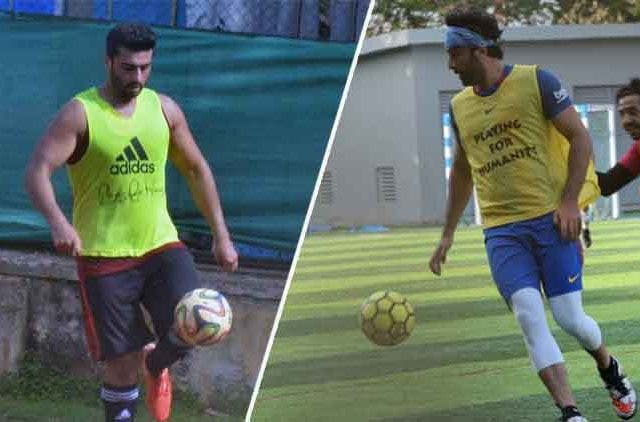 Ranbir-Arjun-Puts-Their-Feet-Forward-In-Football-Videos-DKODING