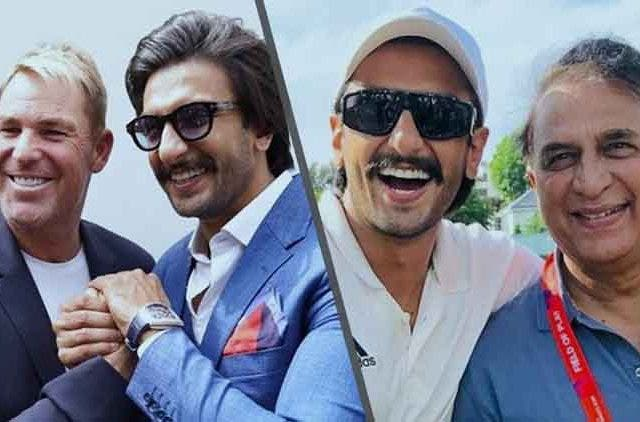 Ranveer-singh-meet-sunil-gavaskar-and-Shane-Warne-videos-DKODING