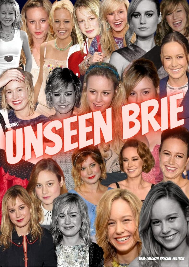 Rare Unseen images of Brie Larson