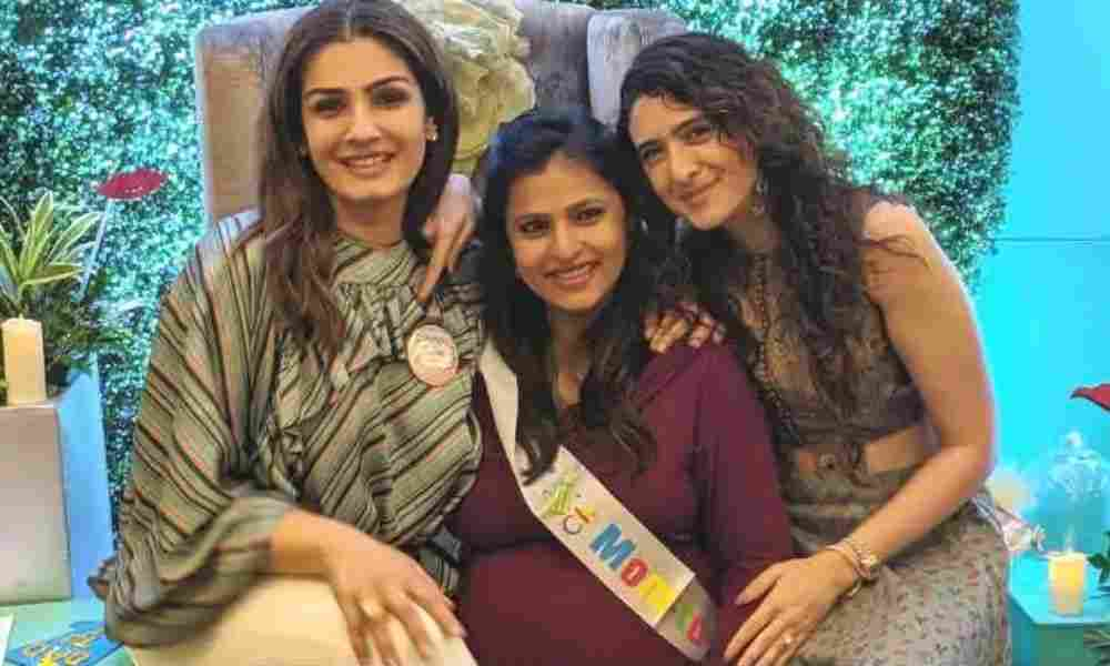 Raveena-Tandon-Her-Daughters-Bollywood-Entertainment-DKODING
