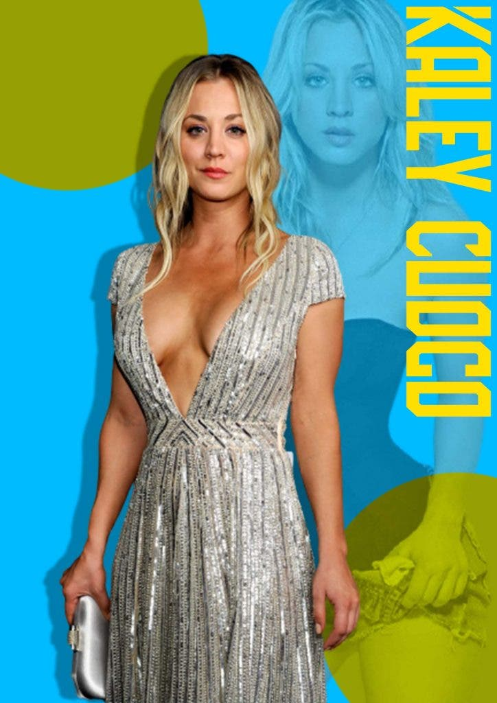 For 'The Big Bang Theory's' Kaley Cuoco, her ex-husband doesn't exist