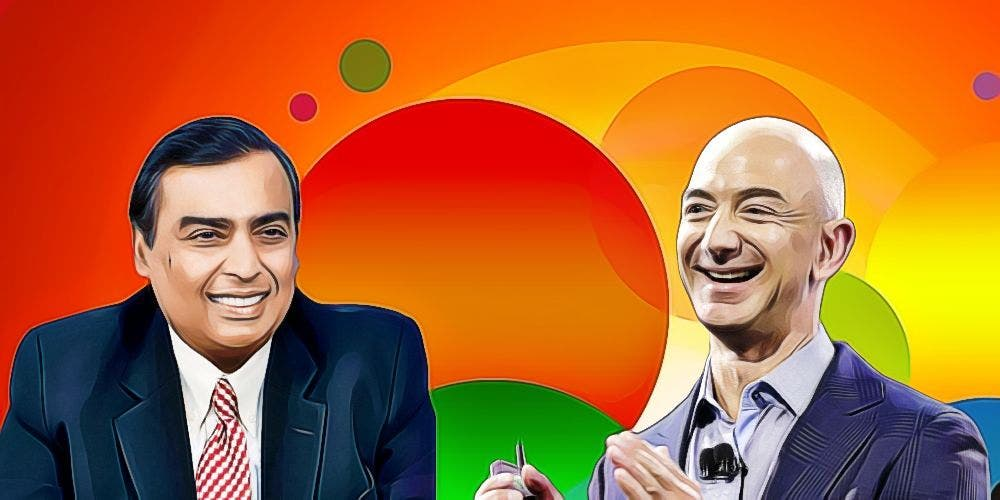 With Fynd And Asteria, Ambani's Reliance Challenges Amazon's Monopoly The Bezos Way