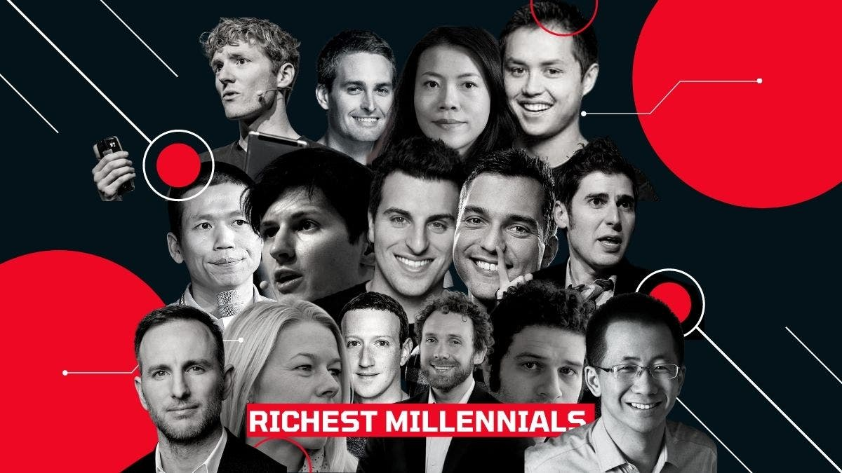 The Richest Millennials In The World In 2021 Are Worth More Than $333 Billion