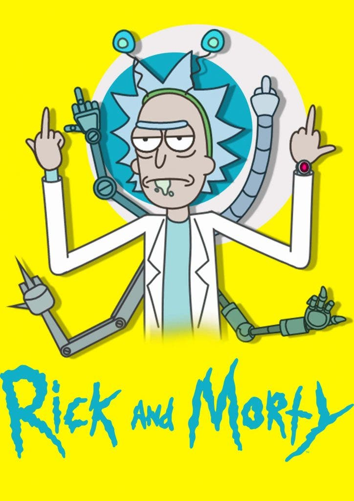 Animated series, 'Rick and Morty', not appropriate for kids