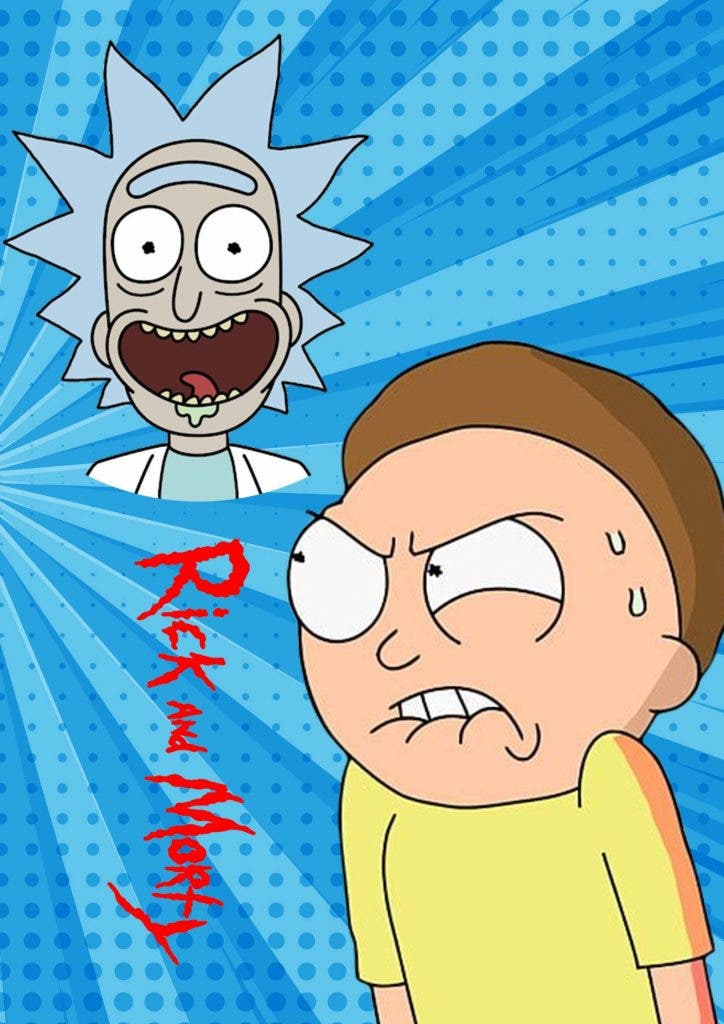 Rick and Morty' wallpapers are a rage