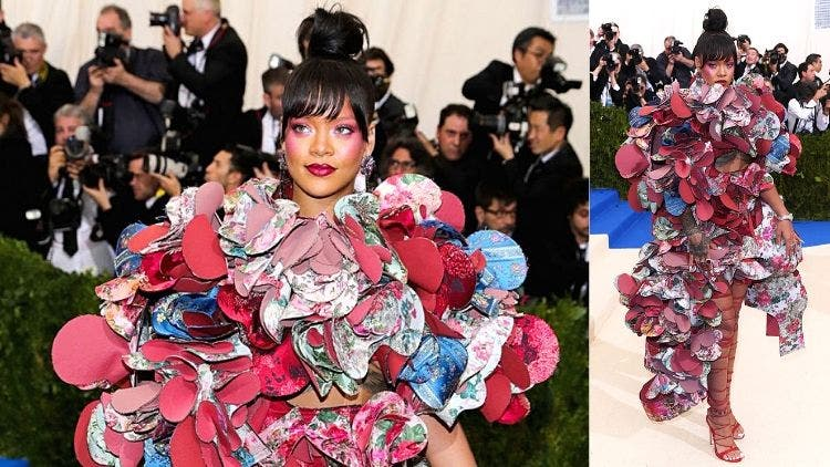 Rihanna-Met-Gala-Celebrity-Crazy-Outfit-Fashion-And-Beauty-Lifestyle-DKODING