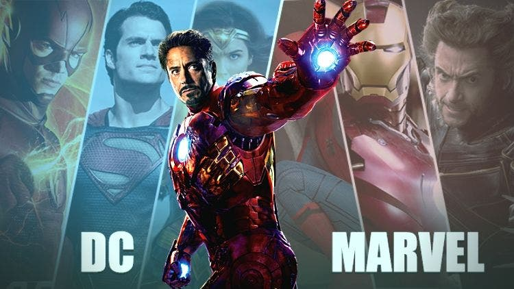 Robert Downey Jr Marvel DC