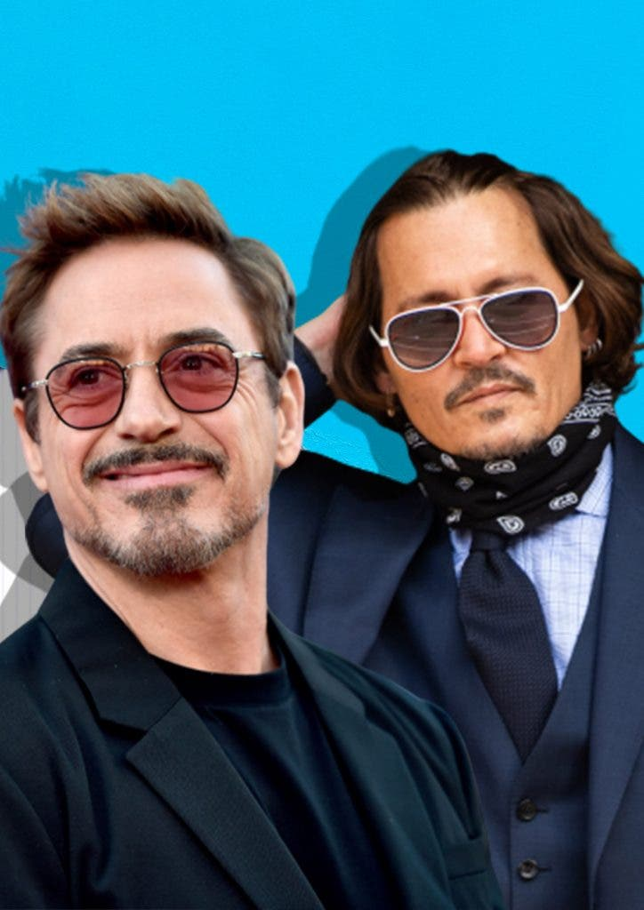 Robert Downey Jr. and Johnny Depp