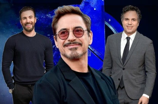 Robert Downey Jr convinced Mark Ruffalo Chris Evans