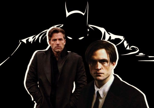 Robert Pattinson Ben Affleck The Batman