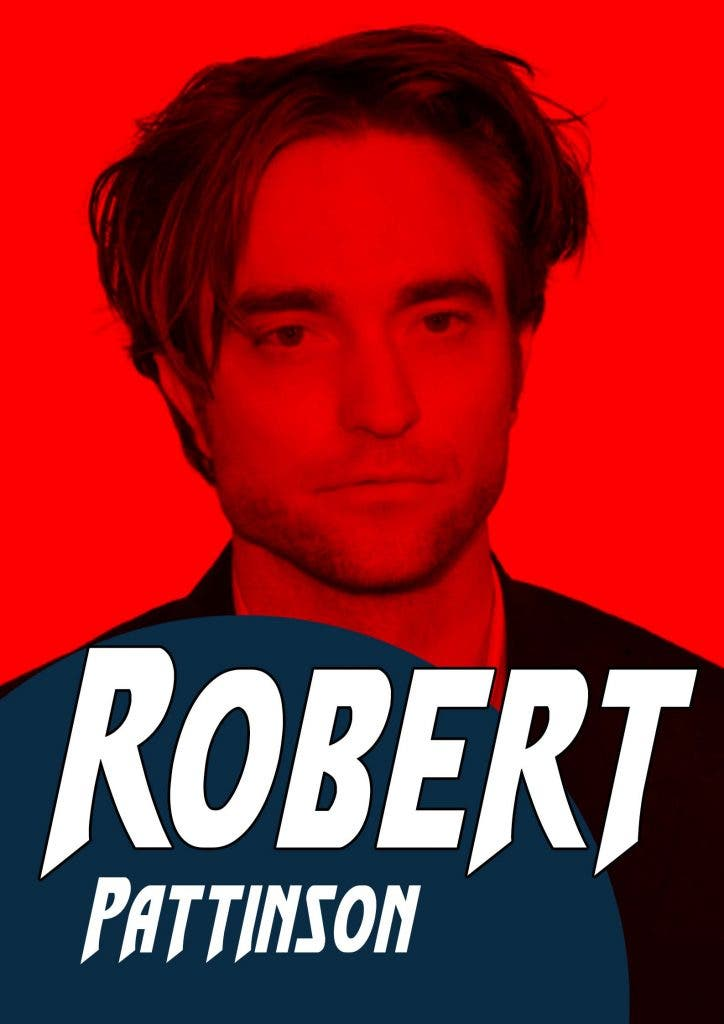 Why does Robert Pattison think that he cannot act?