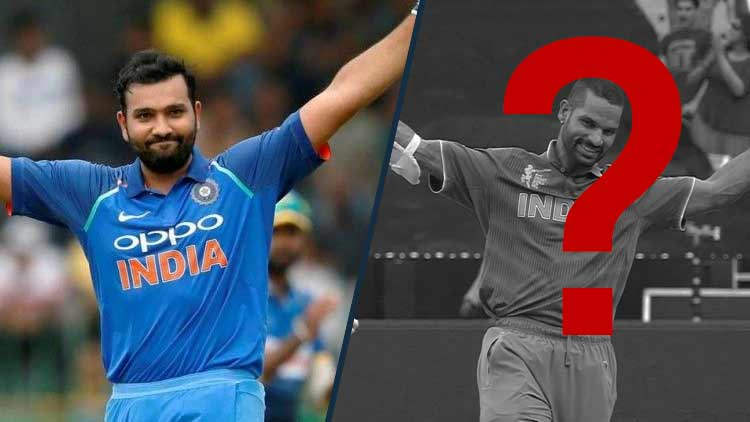 Rohit-Sharma-And-Shikhar-Dhawan-CWC19-Cricket-Sports-DKODING