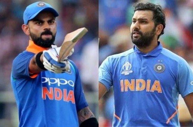 Rohit Sharma Virat Kohli India Cricket Sports DKODING