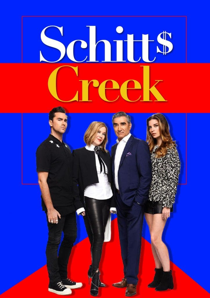Rose family ended at different places in Schitt's Creek