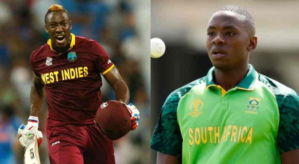 Russell-Vs-Rabada-CWC19-Cricket-Sports-DKODING