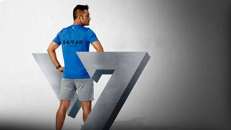 Image result for MS Dhoni 7 company