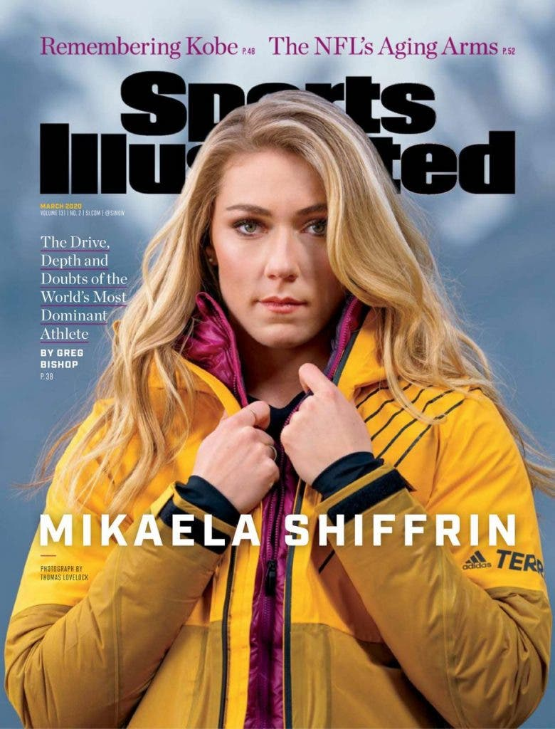 Sports Illustrated April 2020 cover