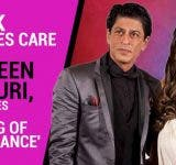 SRK-takes-care-of-Queen-Gauri-proves-he-is-king-of-romance-Videos-DKODING