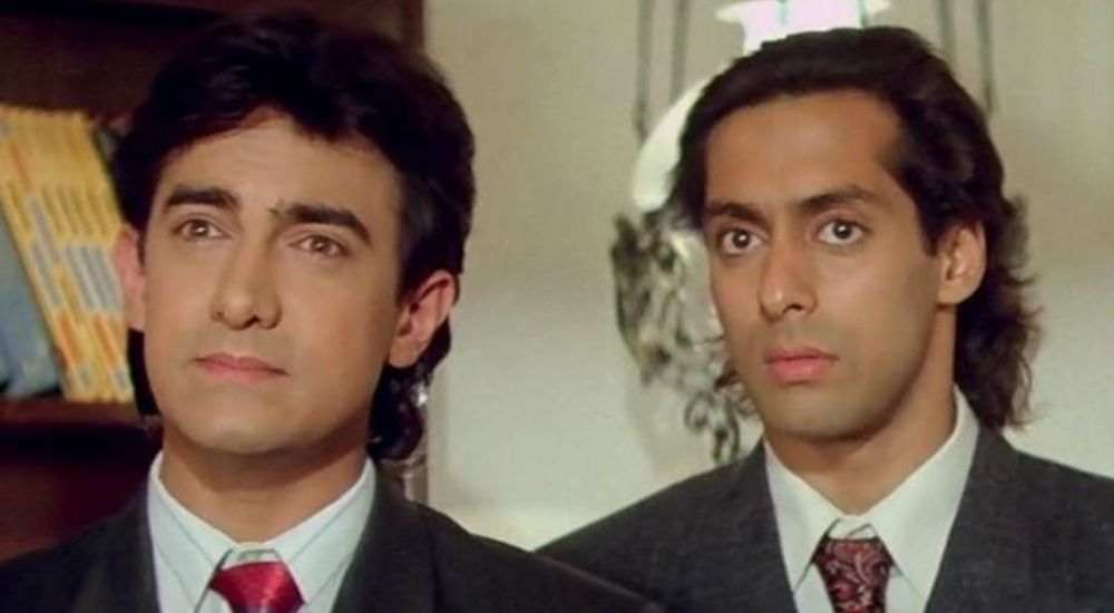 Salman-Aamir-Andaz Apna Apna-Bollywood-Entertainment-DKODING