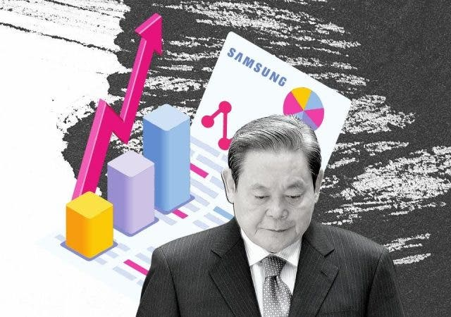 Why The Death Of Chairman Lee Kun-hee Made Samsung's Shares Soar?