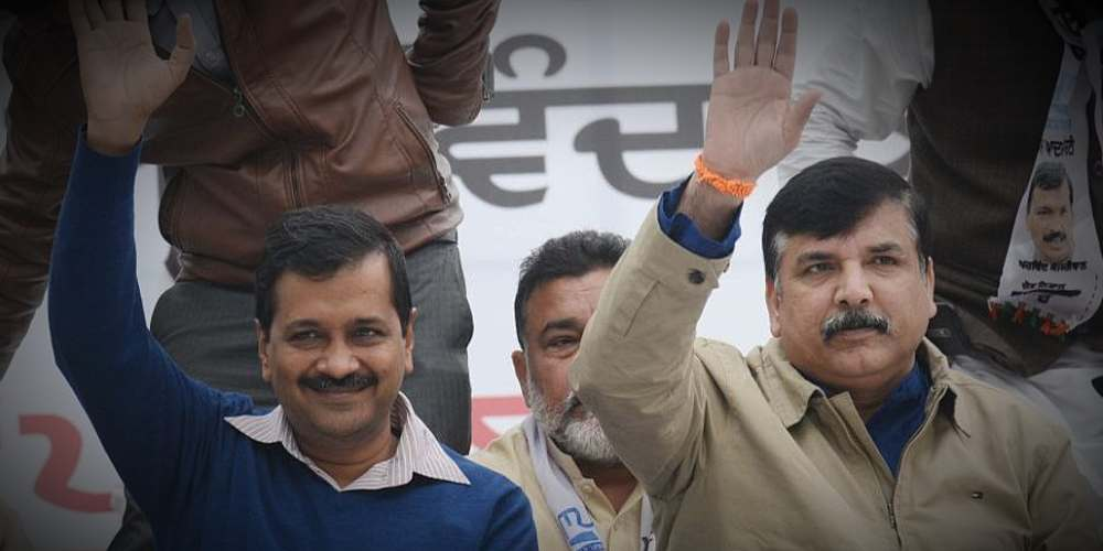 Sanjay Singh AAP Election Delhi India Politics DKODING