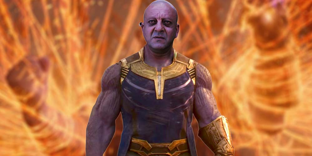 Sanjay Dutt as Thanos DKODING