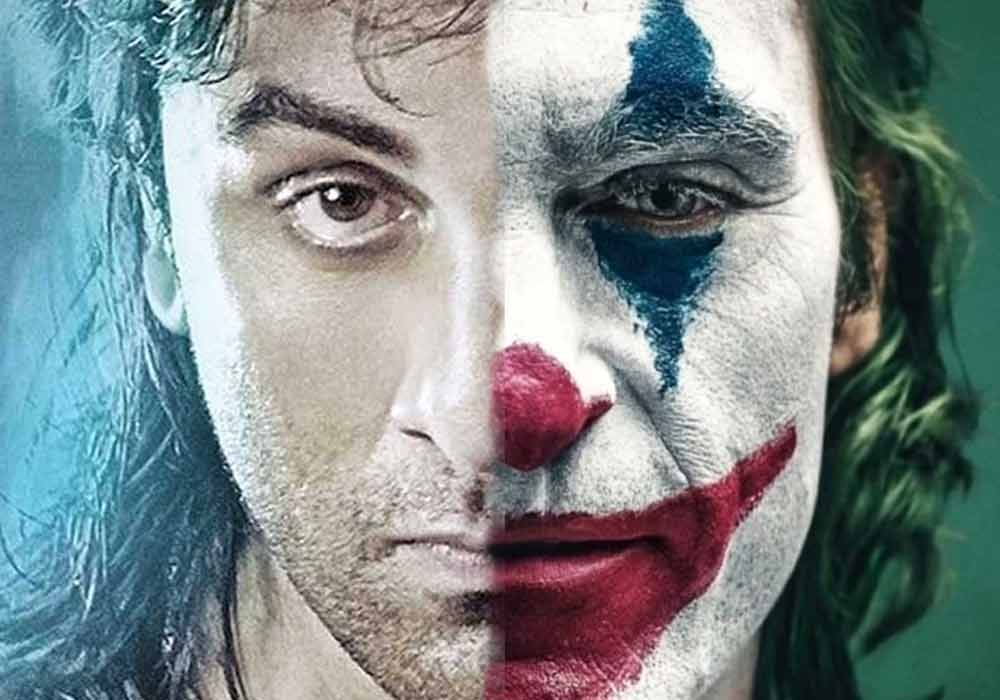 If Ranbir Kapoor Can Play Sanju with such perfection, he is dkoding's best choice to play as joker