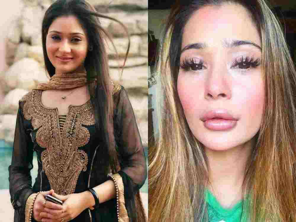 Sara Khan aftre and Before DKODING