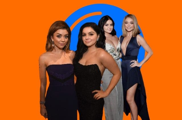 Sarah Hyland copied Ariel Winter
